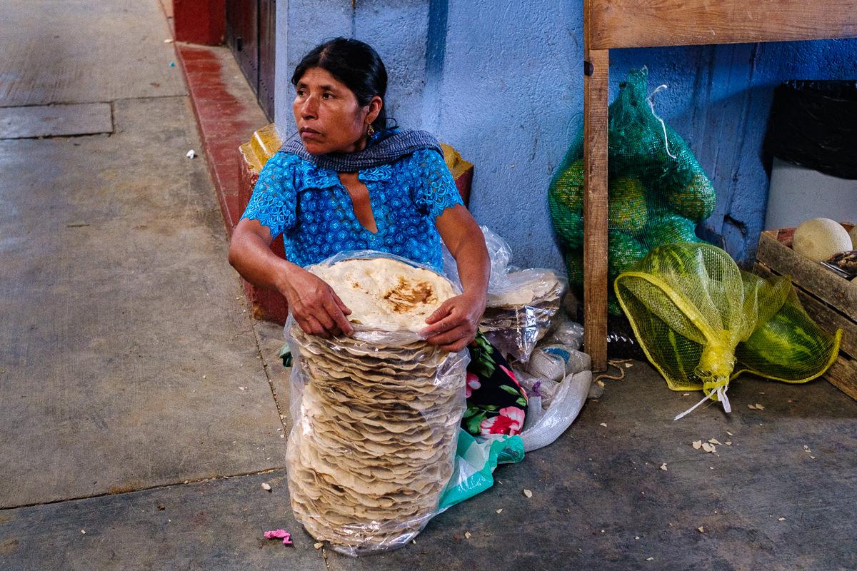 Venta de tortillas